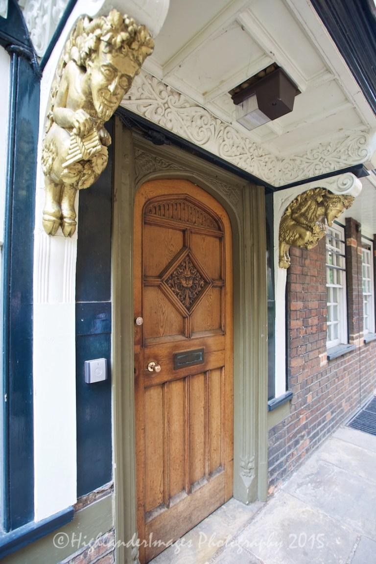 """Narnia Door, Brasenose College, Oxford University, Oxford, UK"