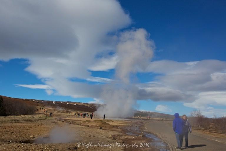 Geysir hot springs, Geysir, Iceland