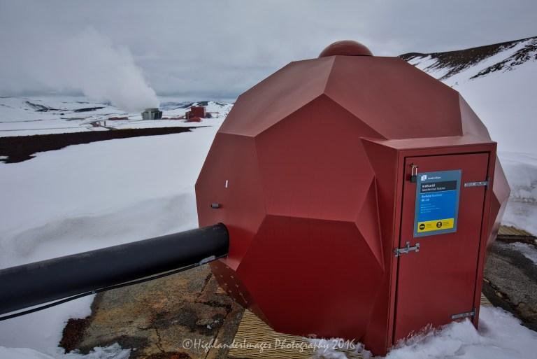 Krafla power station, Iceland