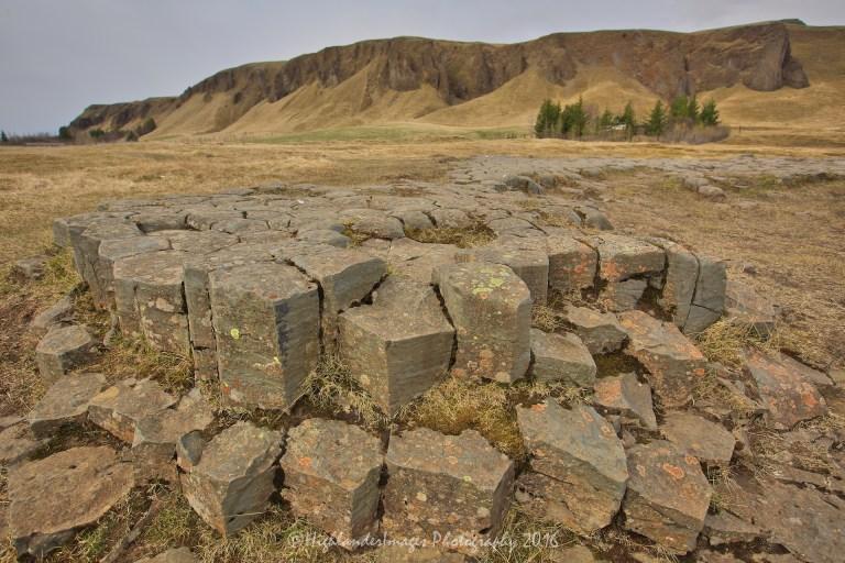 Kirkjugólf, Kirkjubæjarklaustur, Iceland