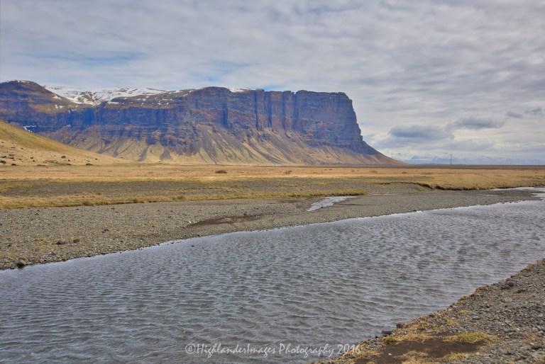 Highway 1 between Kirkjubaejarklaustur and Skaftafell, Iceland