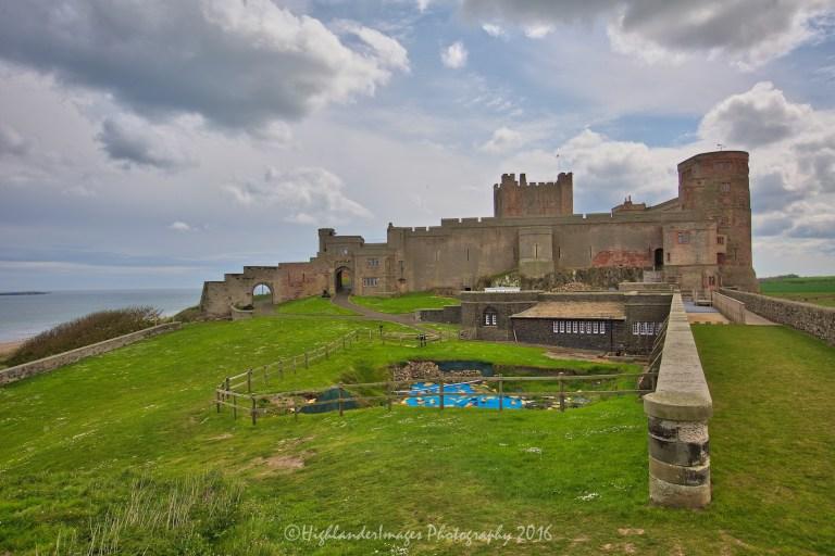 Bamburgh Castle, Bamburgh, Northumberland, England