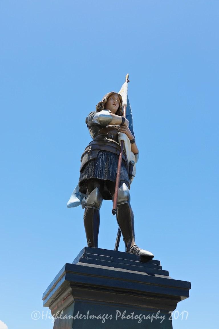 Joan of Arc Statue, Saint-Joseph Cathedral, Noumea, New Caledonia