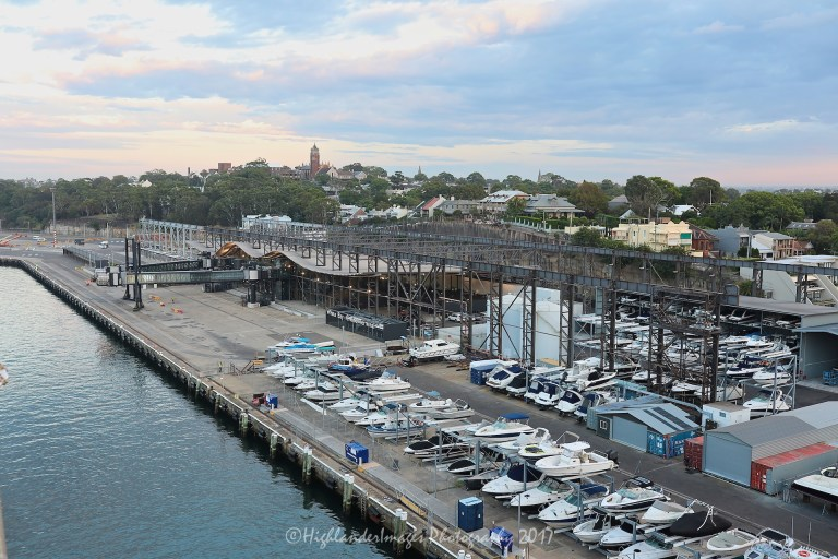 White Bay Cruise Terminal, Sydney, Australia