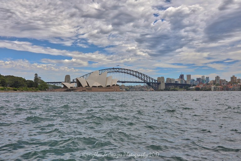 Sydney Harbour Bridge and Sydney Opera House, Sydney, Australia