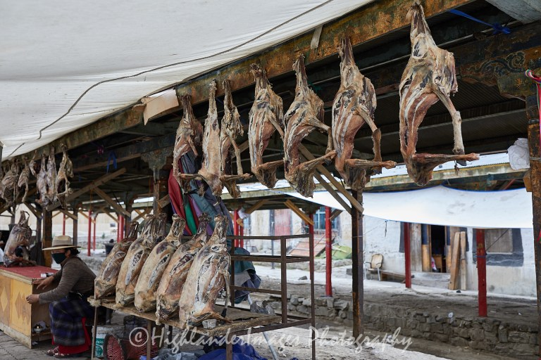 Tibetan Market, Shigatse, Tibet