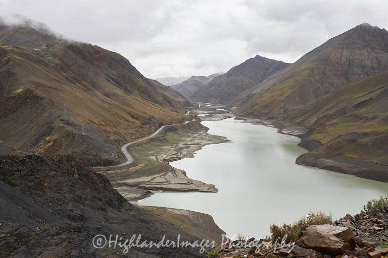 Karola Pass reservoir, Tibet