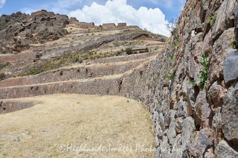 Inca Fortress of Pisac, Pisac, Sacred Valley, Peru
