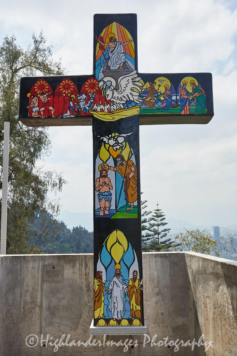 Santuario del Cerro San Cristóbal, San Cristobal Hill, Santiago, Chile