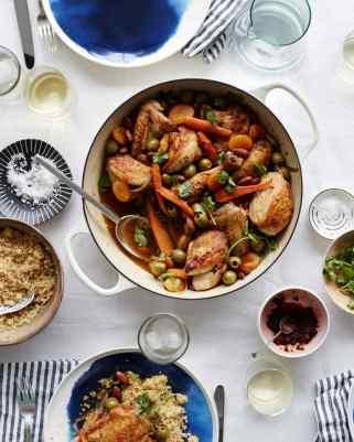 Moroccan Chicken Tangian - Martha Stewart