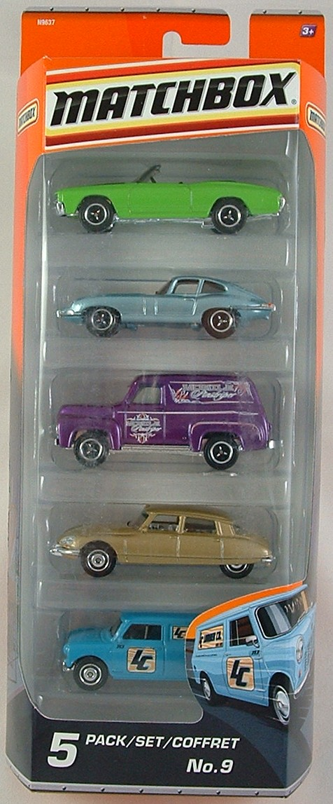 5 pack 2009-09 Classic Cars
