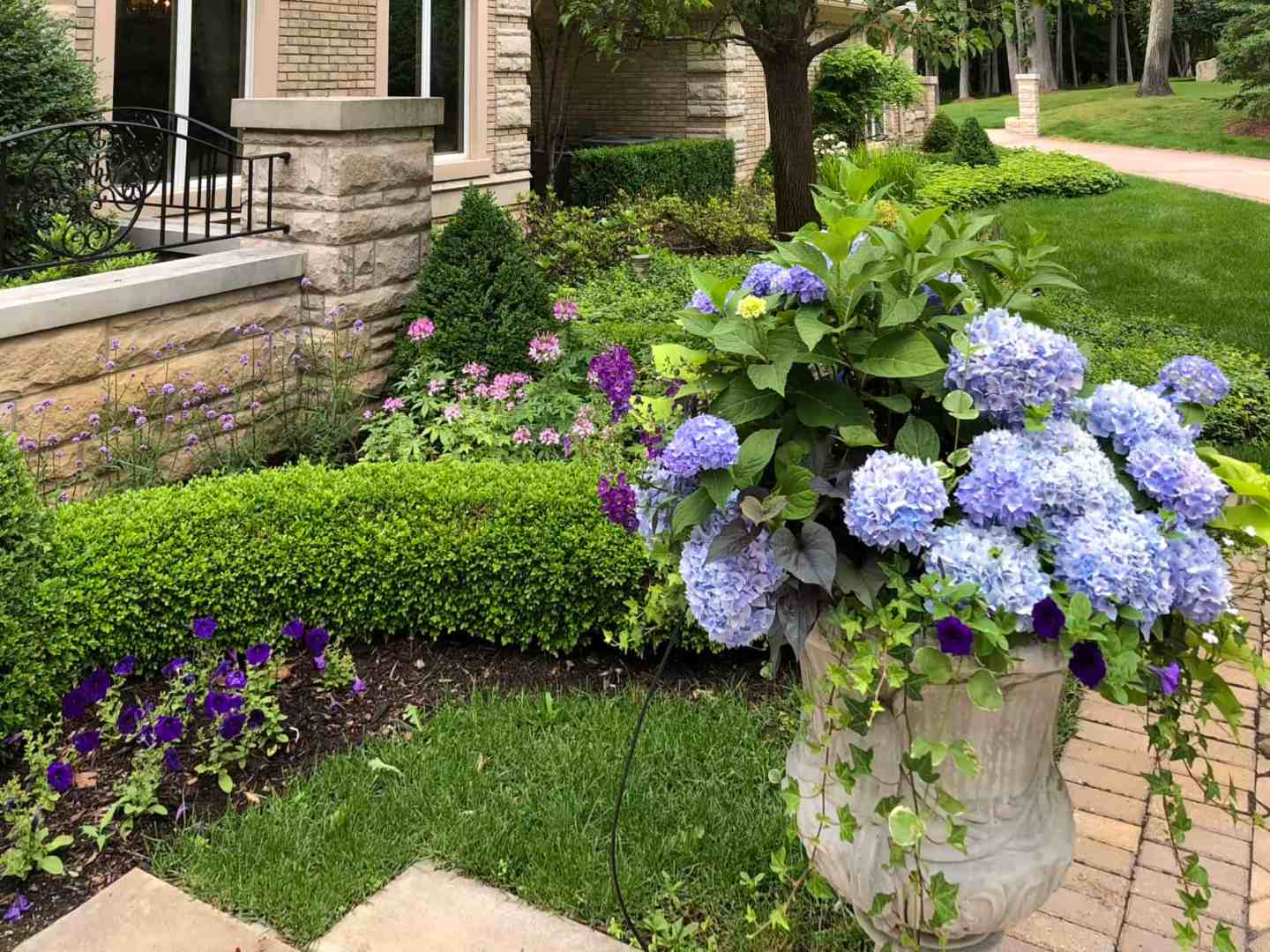 Highland Horticultural Services provides gardening, consultation, and drainage services.