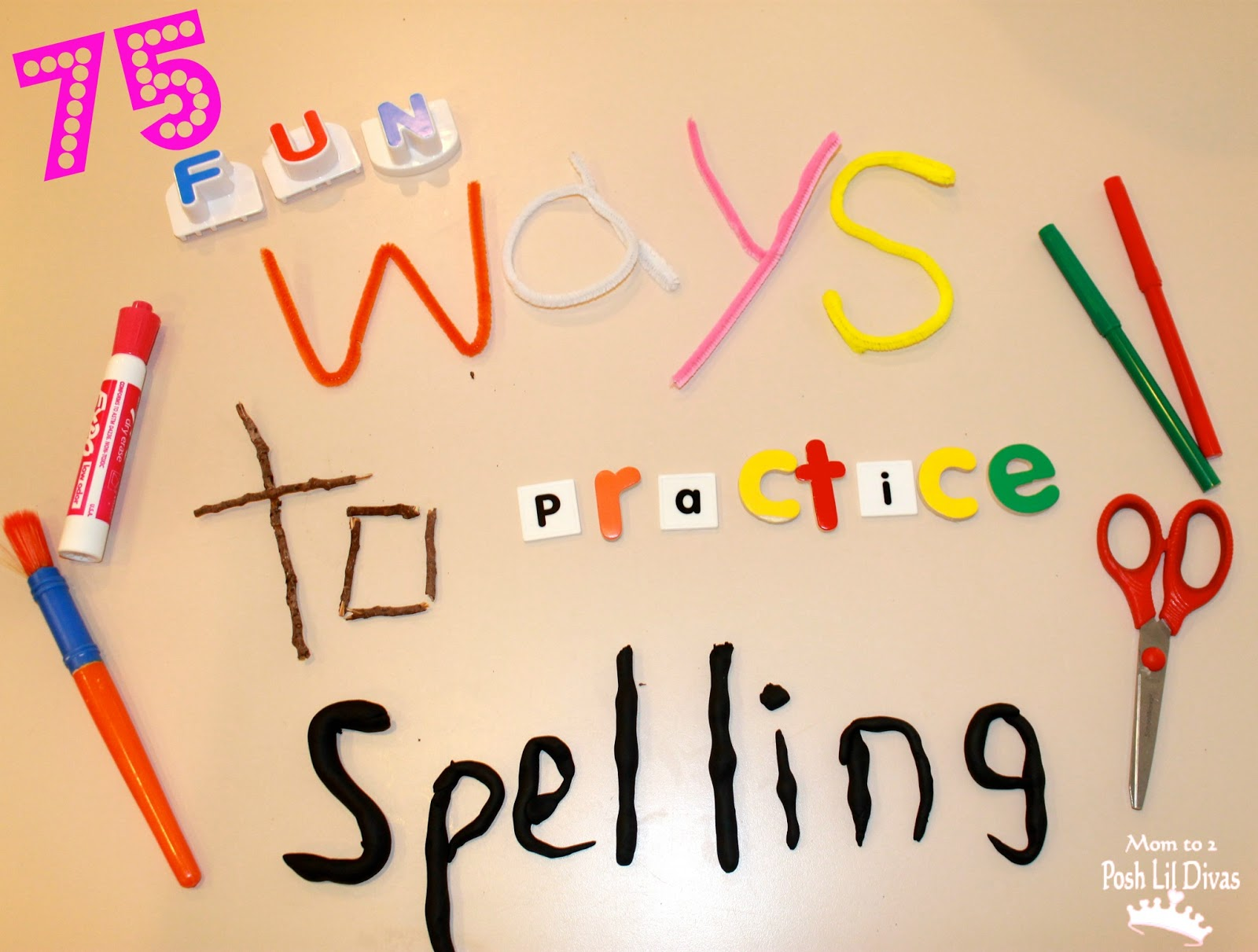 75 Fun Ways To Learn Your Spelling Words
