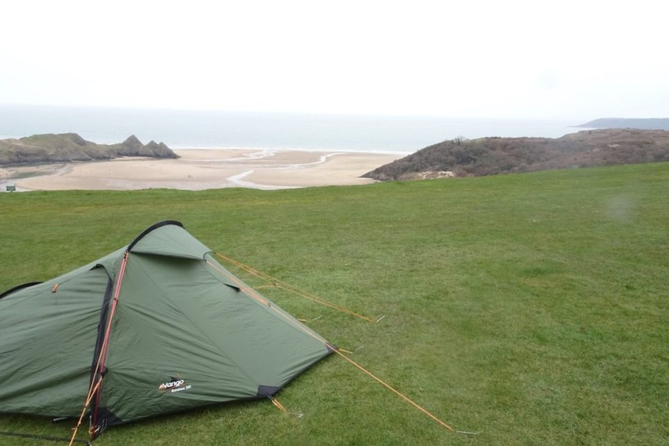 Camping in Wales
