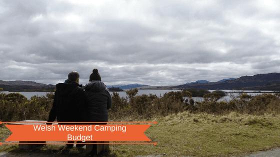 Wales camping budget