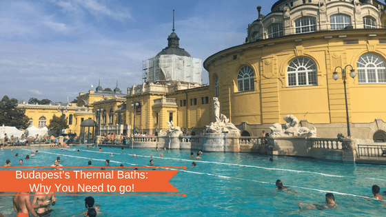 Budapest's Thermal Baths: Why You Need to go!