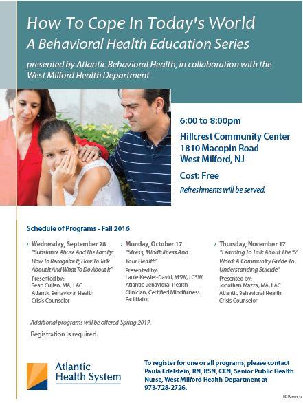 behavoiral health series