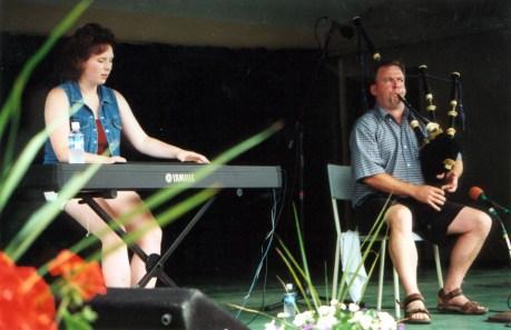Tracey Dares & Paul MacNeil Highland Village Day 2001