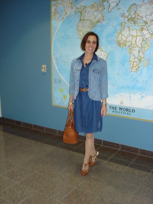 fashionover40 Casual denim look