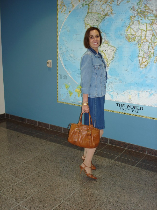 #over40 Denim on denim for  casual Friday | High Latitude Style | http://www.highlatitudestyle.com