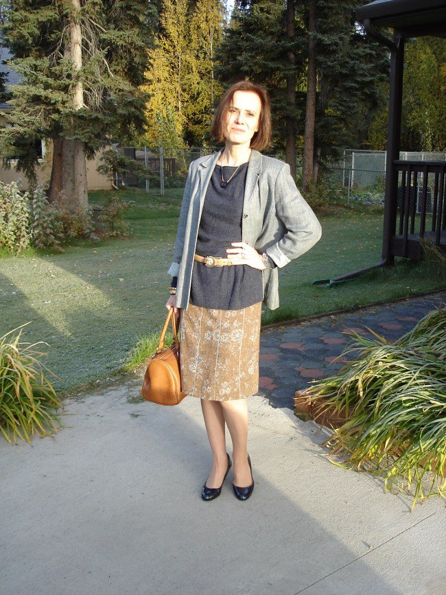 style over 40 Office look for fall