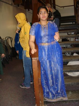 Indian outfits presented at Fairbanks International Friendship Day in October