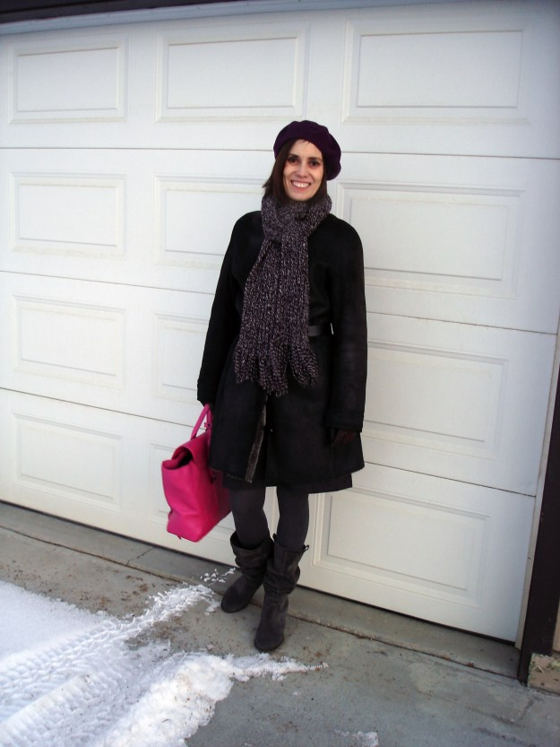 #fashionover40 Styling outerwear in midlife