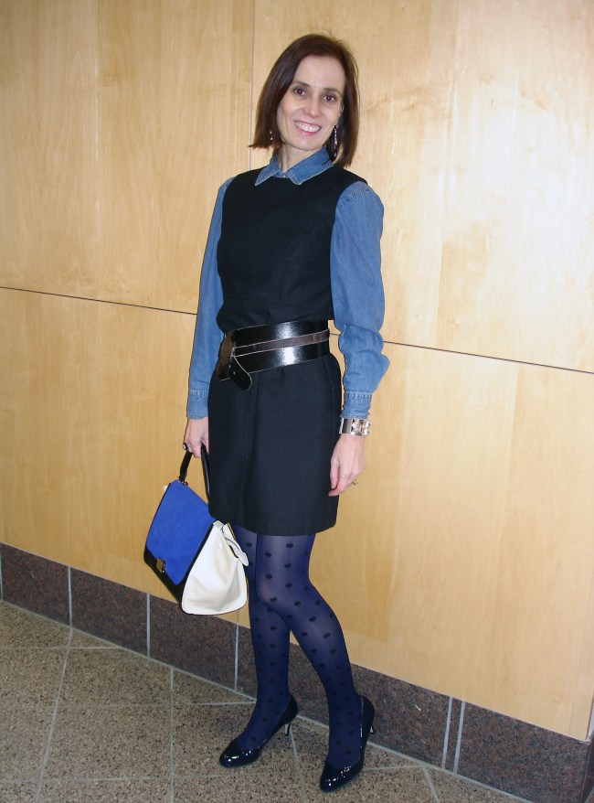 #over40Styling a LBD for the office | High Latitude Style | http://www.highlatitudestyle.com