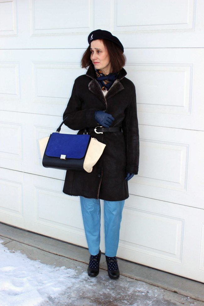styleover50 Mature woman wearing a winter look