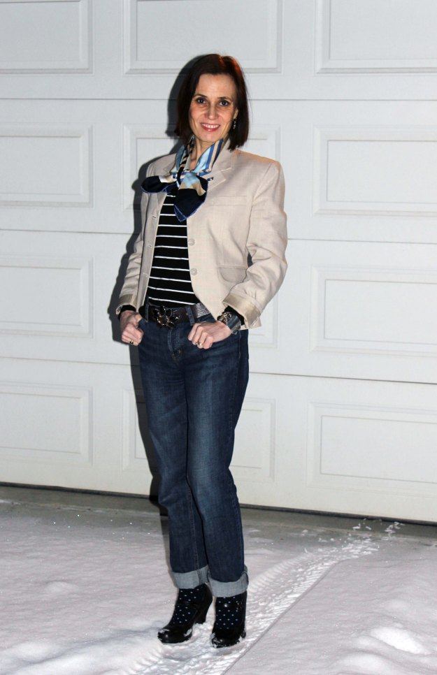 #over40fashion Mature women in casual Friday outfit   High Latitude Style   http://www.highlatitudestyle.com