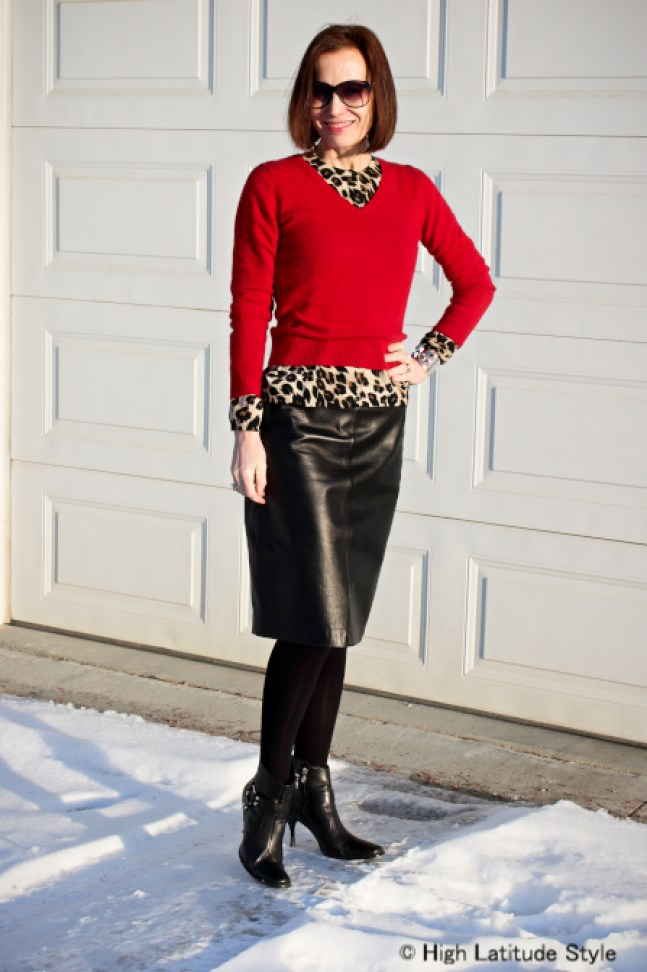 fashion over 40 Work outfit for winter