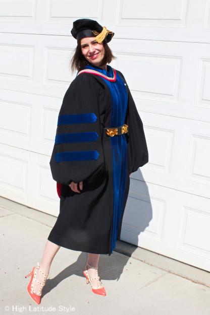 Nicole Mölders professor of atmospheric sciences inregalia