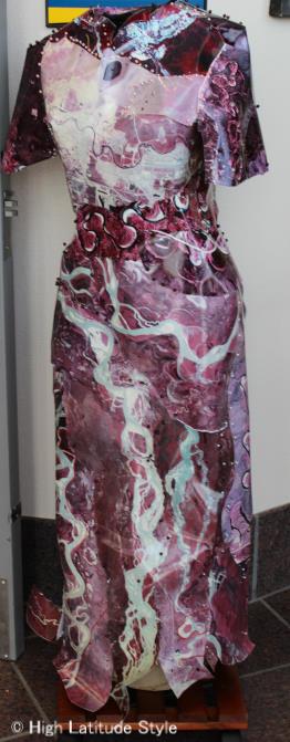 #fashionandart metal gown
