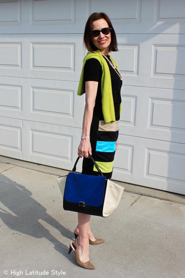 eShakti customized pencil skirt