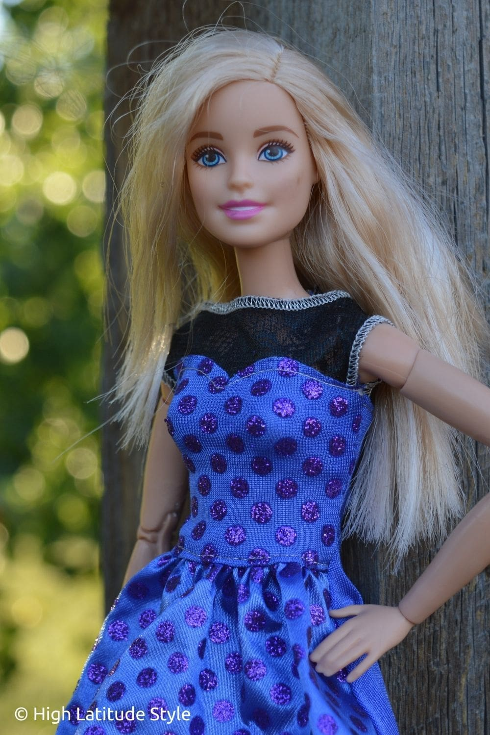 I Love to Be a Living Barbie Doll
