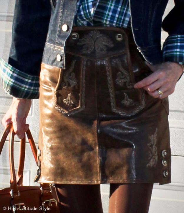 Hosentürle skirts are the latest streetstyle It skirt in Bavaria