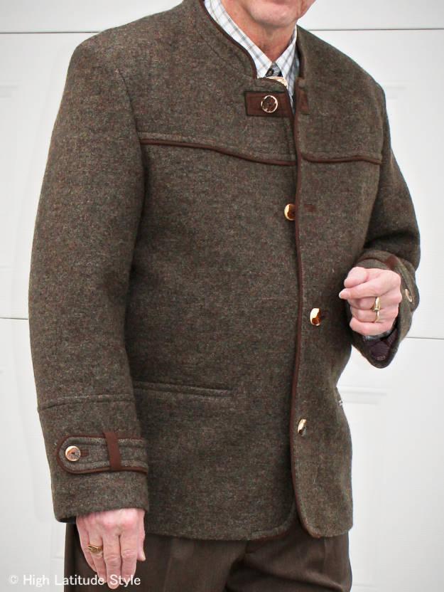 History of the Janker (Austrian or Bavarian trachten loden jacket or coat)