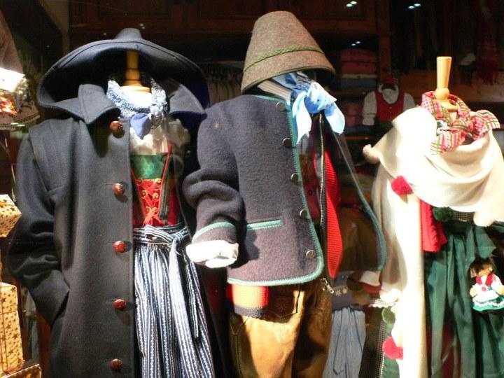 """Women Bavarian trachten clothes """"Bavarian Dirndl fashions in Munich"""" by heatheronhertravels is licensed under CC BY 2.0"""