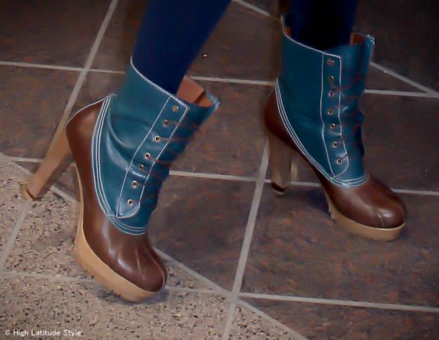 #funnybooties heeled ducks