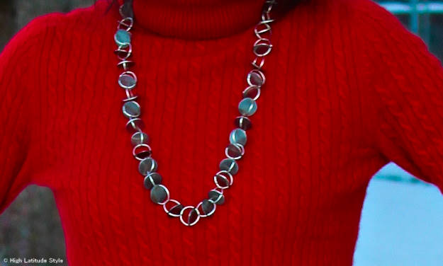 DIY necklace for mature women