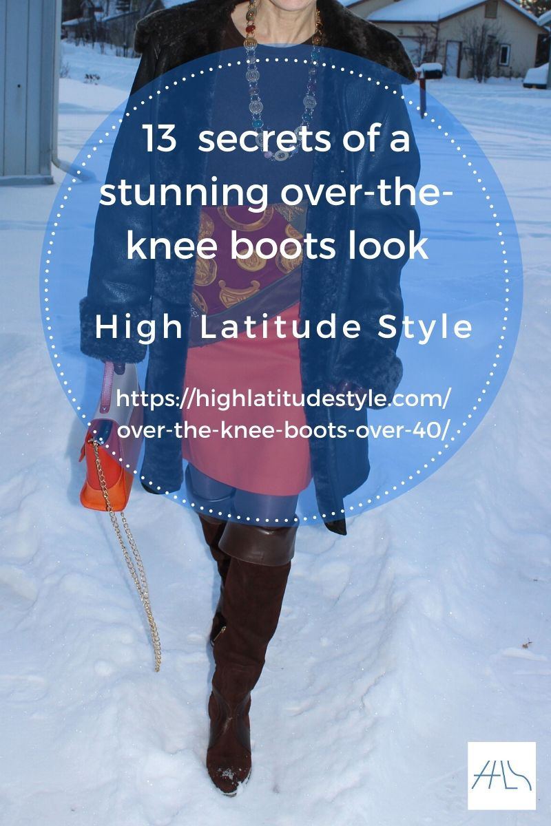 13 Secrets to Look Stunning in Over-the-knee Boots (Guide)