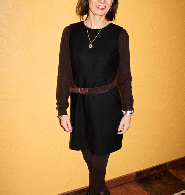 #over40 LBD styled for work | High Latitude Style | http://www.highlatitudestyle.com