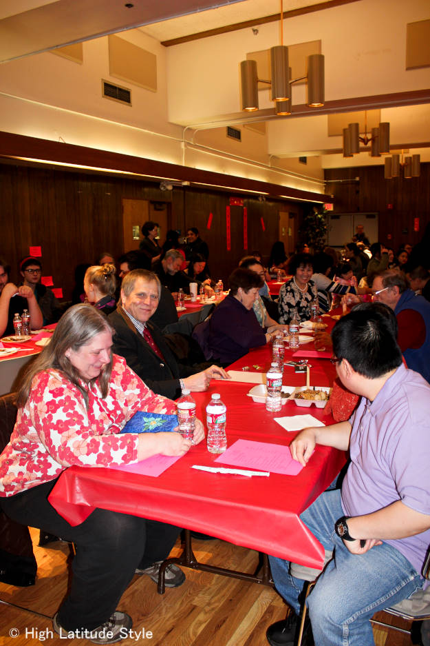 Audience  of Chinese New Year's celebration in Fairbanks, Alaska | High Latitude Style | http://www.highlatitudestyle.com