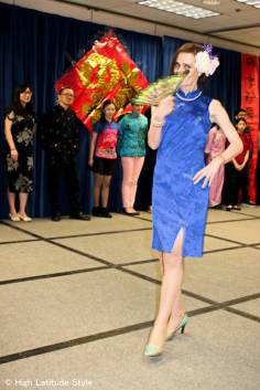 #over40model Chinese dress | High Latitude Style | http://www.highlatitudestyle.com