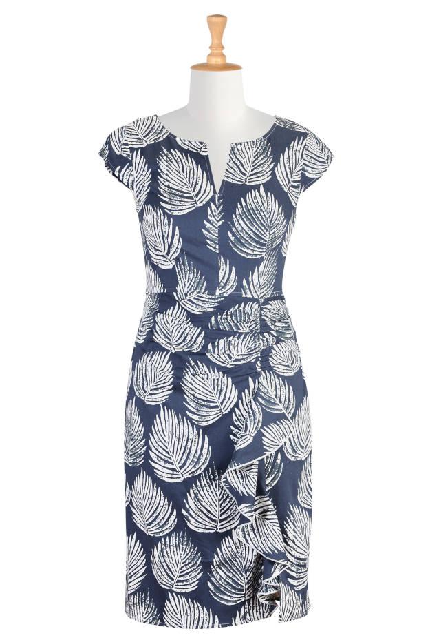 #advancedfashion 2015 spring trend: blue and white dress