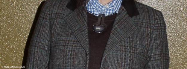 jewelry with Irish blazer