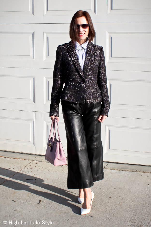 11 tips to look modern in tweed over 40