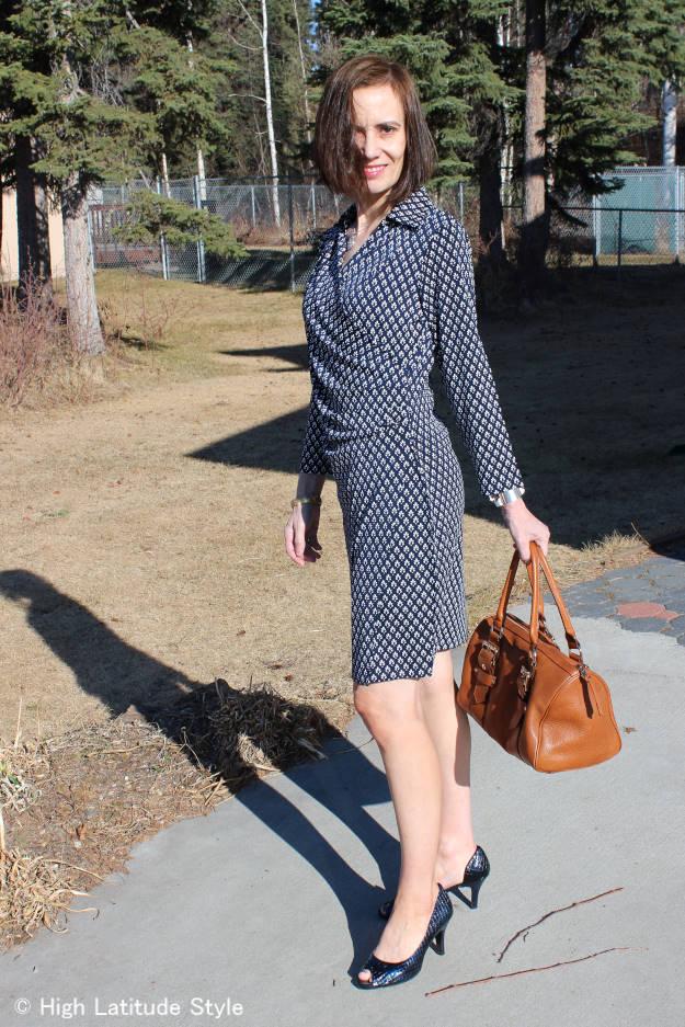 Samantha Brown wrap dress – review