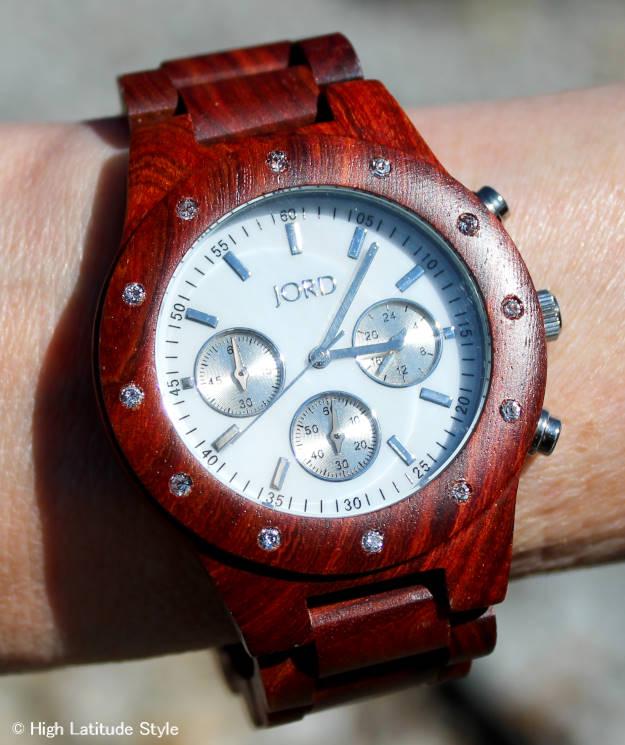 #woodenwatch signature wood watch