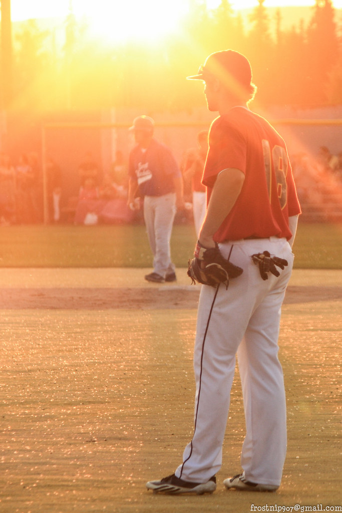 You Want to Watch this Unique Mid-night Sun Baseball Game